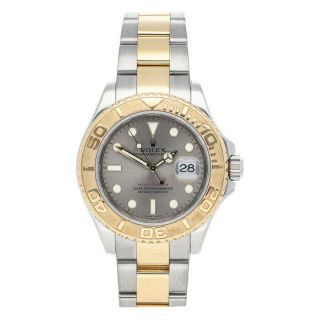 Rolex Yacht - Master 40 Steel Yellow Gold Automatic Mens Bracelet Watch 16623