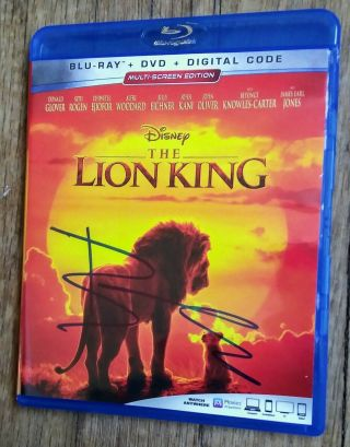 """Beyonce """" Autographed Hand Signed """" Disney"""