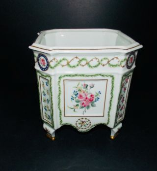Limoges Paris Porcelain Hand Painted Ferner
