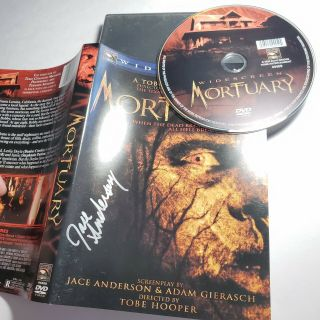 Mortuary Dvd Signed By Writer Jace Anderson