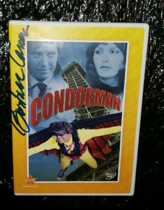 Barbara Carrera Signed Walt Disney Condorman Dvd Michael Crawford Oliver Reed