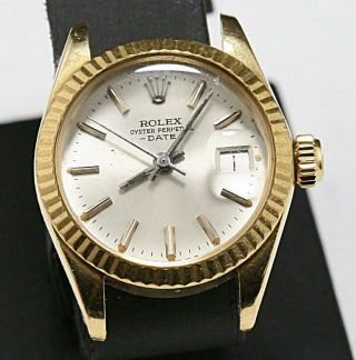 Swiss Made Rolex Presidental Ladies 26mm Datejust Ref 6917 President