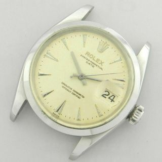 Rolex Oyster Perpetual Date 1500 Vintage Watch 100 1960