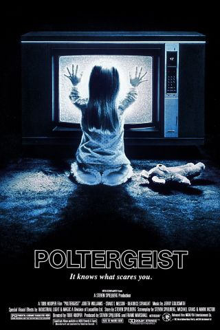 """ Poltergeist "".  Jobeth Williams.  Classic 1982 Movie Poster Various Sizes"