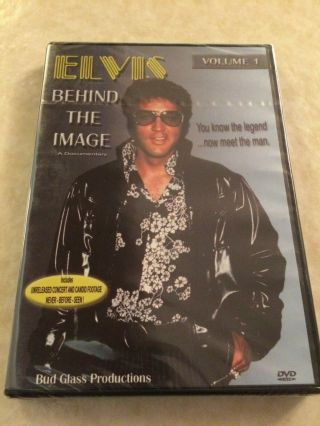 Elvis Presley Behind The Image Vol 1 Dvd - Bud Glass Productions Oop