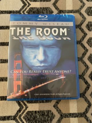 The Room Starring Tommy Wiseau And Greg Sistero Blu - Ray Dvd