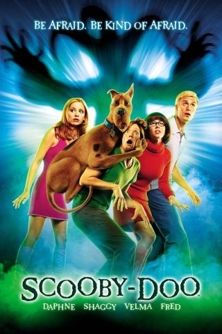 """ Scooby Doo; The Movie "".  Classic Animated 2002 Movie Poster Various Sizes"