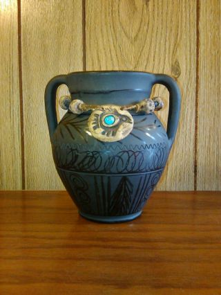 Blackwater Vase Hand Crafted Romania Ceramics