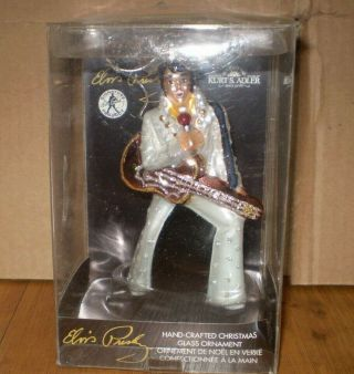 Elvis Presley Hand Crafted Ornament