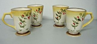Better Homes And Gardens Tuscan Retreat Mugs Coffee Cups Set Of 4
