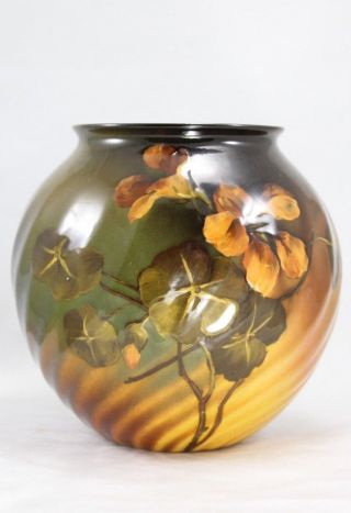 "Spectacular 1895 Rookwood 5½ "" Arts & Crafts Signed Artist Vase Mary L Perkins"