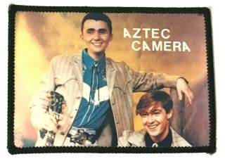 Aztec Camera - Old Og Vtg 1980`s Photo Patch - Pop Wave (not Shirt Badge Cd)