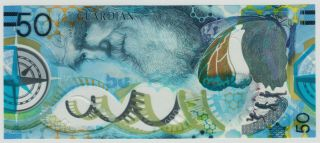 - - - - Guardian Test Note / Test Banknote Made Of Plastic / Polymer / Darwin - - - -