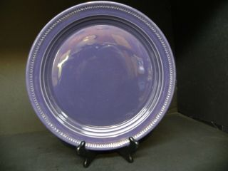 Dansk Craft Colors Eggplant Round Platter.