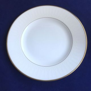 "Waterford Lismore Gold Salad Plate 8.  0 "" Nwt Retired"