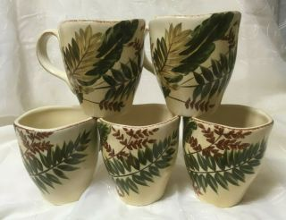 Tabletops Gallery Maya Coffee Mugs Hand Painted & Hand Crafted,  Excel.  Con