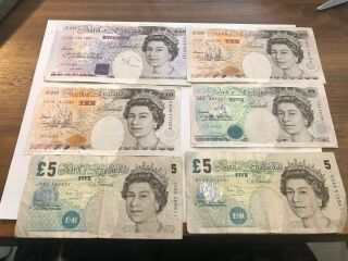 Great Britain £55 Pounds - Circulated