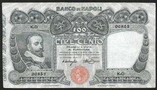 100 Lire From Italy 1911 M5