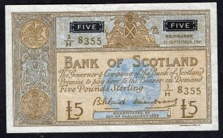 5 Pounds From Scotland 1961