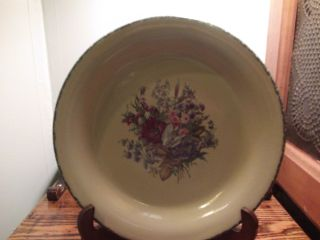 Home And Garden Party Floral Dinner Plate Usa