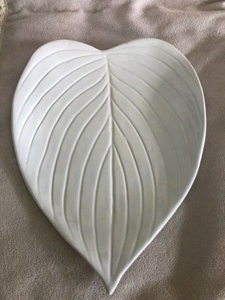 Napa Home And Garden,  Stoneware Leaf Shaped Accent Plate