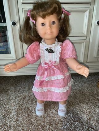 "Gotz Puppe Modell 18 "" Doll All Vinyl W.  Germany Tagged Outfit Pre American Girl"
