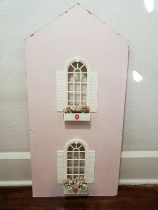 Barbie Magical Mansion Replacement Part - - Right Side Wall With Flower Boxes