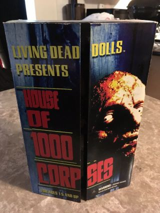 House Of 1000 Corpses Otis And Cheerleader Living Dead Doll Rare
