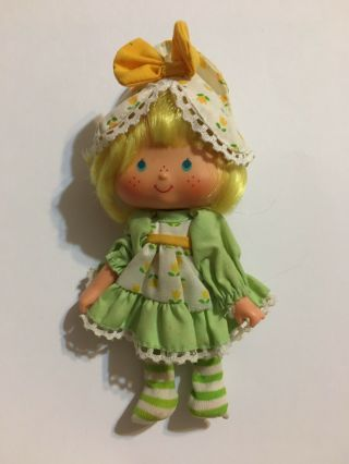 Vtg 80s Strawberry Shortcake Party Pleaser Tulip Doll