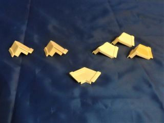 1990 Barbie Magical Mansion Replacement Parts - Roof Corner Trim Supports (6) 3