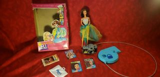 Fashion Photo Superstar Pj Barbie Doll 2323,  1978 - 79 W/ Box Camera And Stand