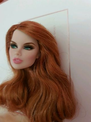 Fashion Royalty Sophistiquee Vanessa Perrin Head Only La Femme Toys