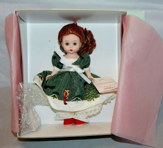 "Madame Alexander 8 "" Doll My First Christmas Tree With Spode 36875"