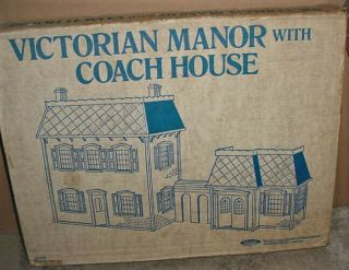 Vintage Skil - Craft Victorian Manor W/ Coach House No.  6830 Un Assembled