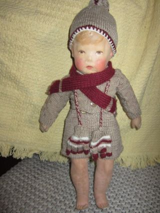 Outfit 5 Piece For Kathe Kruse Doll 1 Puppe 1 (43cm) Wide Hips No Doll