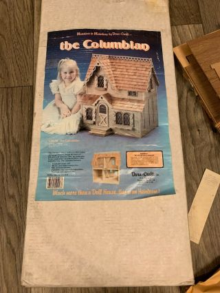 Dura - Craft Dollhouse Kit | The Columbian | Complete Set With Instructions