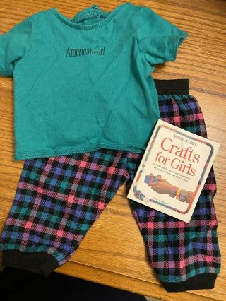 American Girl 1998 Ag Pjs Ii,  Boxer Pajamas With Mini Crafts For Girls Book