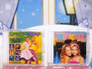 Mary Kate & Ashley Cd Dvd Movie Barbie Fits Fisher Price Loving Family Dollhouse