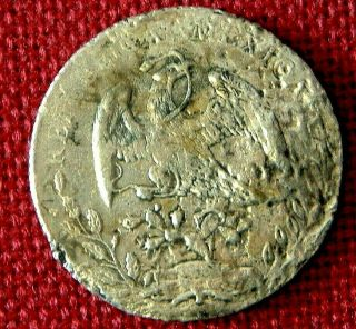 1889 Piece Of 8 Or 8 Reale From Uss Charlston Shipwreck Sunk 1899